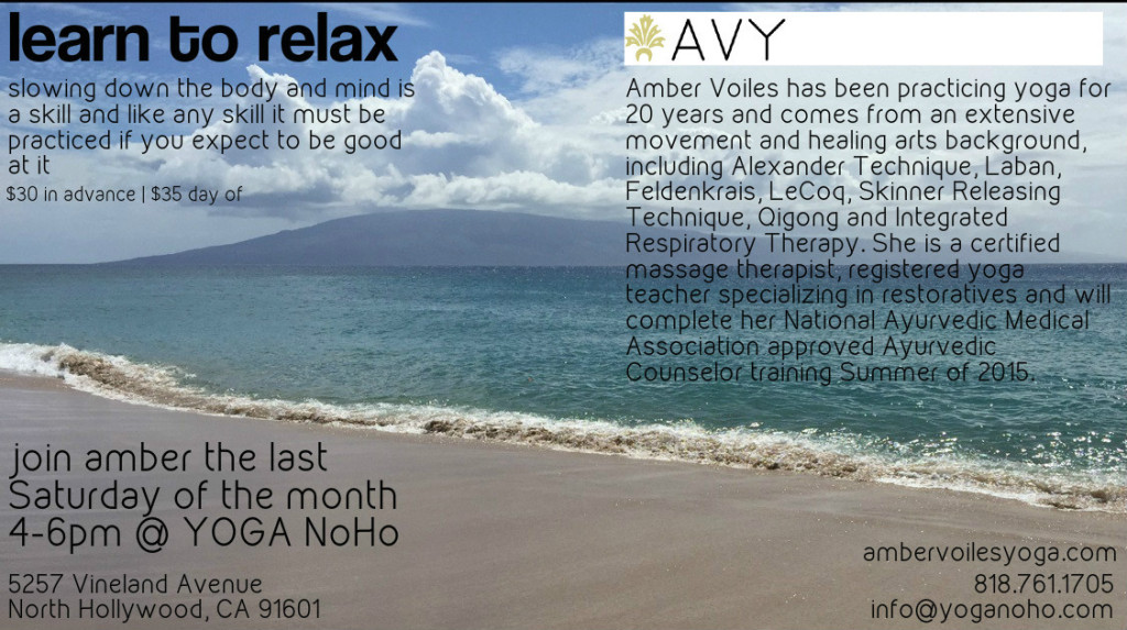 learn to relax flyer noho final